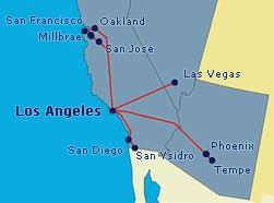 Megabus West Coast Routes
