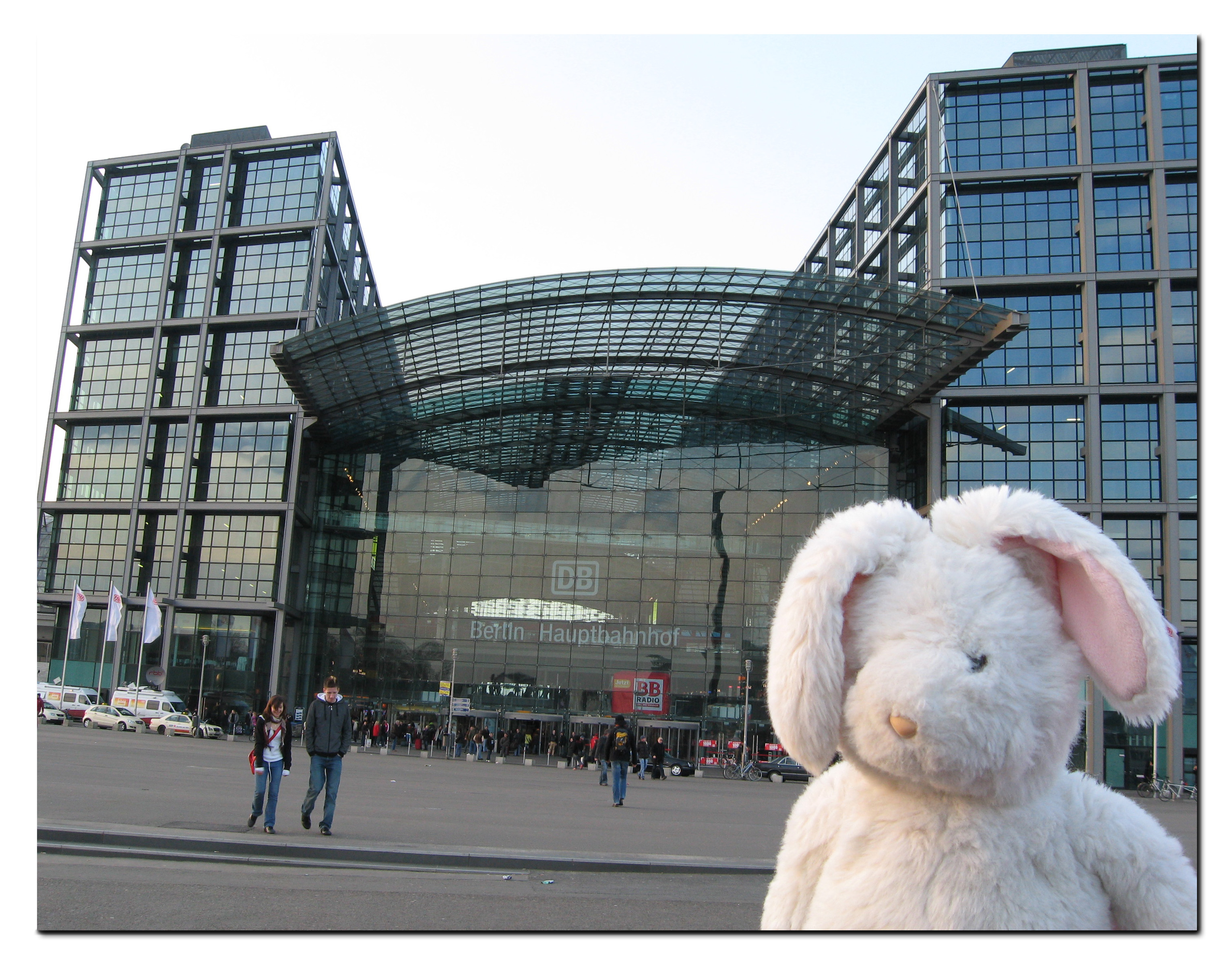 Two Hours in Berlin Hauptbahnhof Part I Less Than a Shoestring