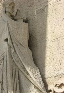 La Sagrada Familia, sculptural detail