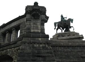 Deutsches Eck, Koblenz, Germany
