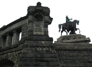 Deutsches Eck, Koblenz, Germany