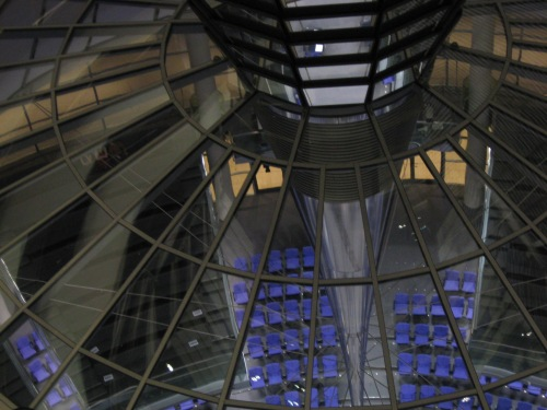 Reichstag, inside view