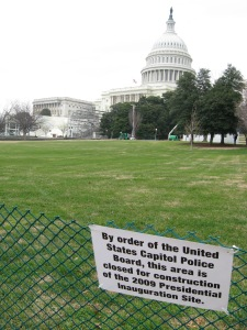 DC Inauguration Site