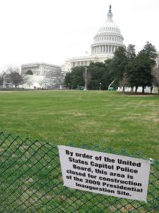 DC Inauguration Site